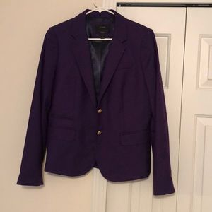 JCrew purple blazer